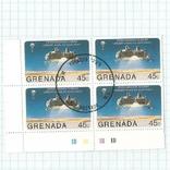 Марка.Гренада .1976  Космос, фото №2