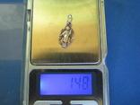 Кулончик Ангел серебро., фото №6