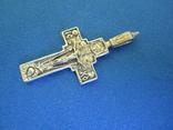 Крестик серебро., фото №4