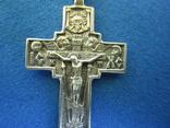 Крестик серебро., фото №6