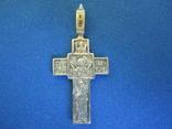 Крестик серебро., фото №8