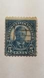 Марка 5 центов Рузвельт, фото №2