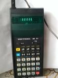 Радянський калькулятор електроніка МК 61, фото №4
