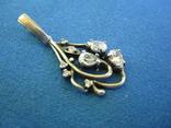 Кулон серебро и цирконии., фото №3