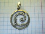 Кулон серебро., фото №9