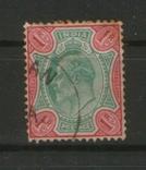 1903 Брит. колонии. Индия Король Георг V, номинал 1 рупия, фото №2