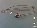 Винтажная подвеска-кулон с цепочкой. Серебро. Клейма., фото №4