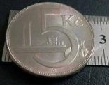 5 крон 1937 року Чехословаччина- копія, фото №3