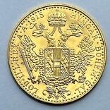 1 дукат. 1915. Франк Иосиф. Австрия. (золото 986, вес 3,49 г), фото №3