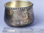 Какой-то сосуд - то ли видпош, то ли плевательница и т. п., серебро, 83+ грамма, фото №3