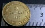 5 марок золотом 1913 року  Фінляндія у складі Російської Імперії///копія/, фото №2