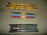 Ручки дерево 3 шт + пластик 3 шт., фото №3