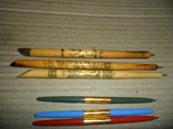 Ручки дерево 3 шт + пластик 3 шт., фото №5