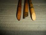 Ручки дерево 3 шт + пластик 3 шт., фото №10