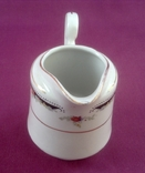 Сливочник / молочник. Фарфор, позолота, China Perl., фото №6