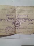 Трудовая книжка 1946г, фото №4