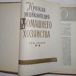 2 ТОМА Краткая энциклопедия домашнего хозяйства, фото №9