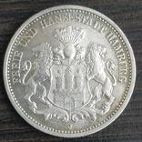 3 марки Гамбург,1876 г., фото №2
