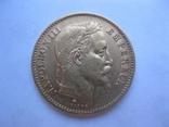 20 франков 1867 год Франция Наполеон III, фото №3