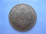 20 франков 1867 год Франция Наполеон III, фото №2