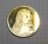 Сувенирная монета Тайная вечеря (копия), фото №3