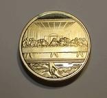 Сувенирная монета Тайная вечеря (копия), фото №4
