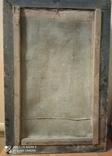 Икона Св.Ах.Гавриил и Матерь Божья. Холст.Размер 750х500 мм, фото №6