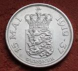 2 кроны 1937 г. Дания, серебро, фото №6