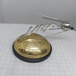 Настольный сувенир 1957 Полет первого Спутника вокруг Земли. СССР. Космос, фото №3