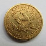 5 долларов 1901 г. США, фото №3