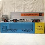 Тягач, грузовик Lion Car 1/50 Scale Nr.36 DAF Trucks 2600 Trekker Eurotrailer, Holland, фото №2