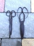 Старовинні уовані ножиці, фото №2
