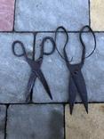 Старовинні уовані ножиці, фото №5