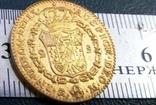 2 ескудо золотом 1788 року Іспанія/позолота 999/ копія не магнітна / дзвенить /, фото №4