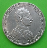 5 марок, Пруссия, 1913 год., фото №2