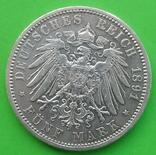 1891 год, Пруссия, 5 марок, фото №4