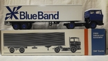Тягач, Грузовик Lion Car 1/50 Scale No.36 - DAF Truck Trailer - Blue Band, Holland, фото №2