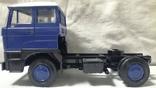 Тягач, Грузовик Lion Car 1/50 Scale No.36 - DAF Truck Trailer - Blue Band, Holland, фото №9