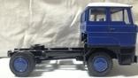 Тягач, Грузовик Lion Car 1/50 Scale No.36 - DAF Truck Trailer - Blue Band, Holland, фото №10