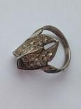 Серьги и Кольцо перстень Серебро -925 проба Вес -12 грамм, фото №12