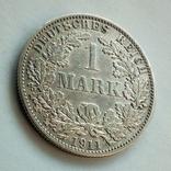 Германия 1 марка 1911 г. ( А ), фото №4