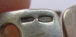Крупные серьги и кольцо серебро 925 17,2 грм, фото №5