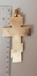 Крест золото 585 проба., фото №4