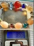 Браслет минералы и кристаллы 35.5 грм., фото №5