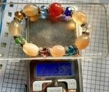 Браслет минералы и кристаллы 35.5 грм., фото №6