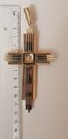 Крест золото 585 проба., фото №6