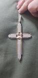 Крест золото 585 проба., фото №8