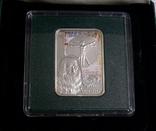 Художники Мира - Леонардо да Винчи - МОНА ЛИЗА - серебро. Футляр, сертификат, фото №3