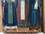 Икона Иоан Златоуст Василий Великий Григорий Богослов, фото №5