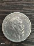 5 марок Германия Вюртемберг 1875г., фото №2